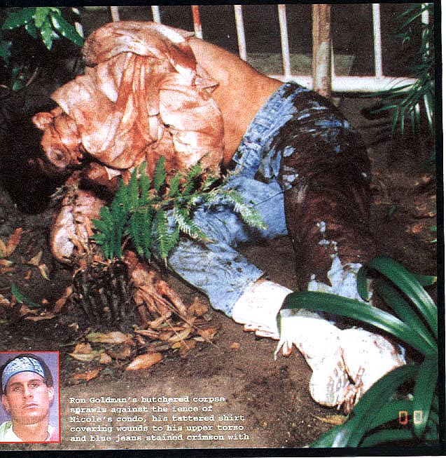 Crime Scene Photographs, Nicole Brown Simpson and Ronald Goldman/